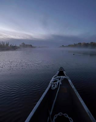 Fleetwood Mac - Canoe and Beaver at Dawn by Rick Shea