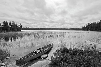 Photograph - Canoeing In The Boundary Watesr by Sandy Swanson