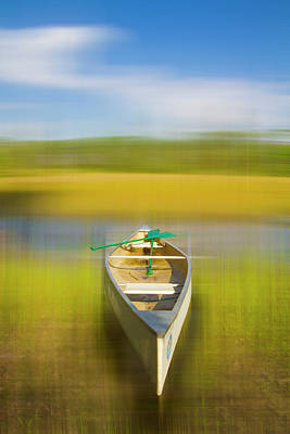 Photograph - Canoeing In The Glades Dreamscape by Debra and Dave Vanderlaan