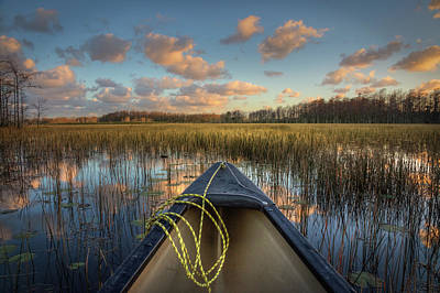 Photograph - Canoeing On The River by Debra and Dave Vanderlaan