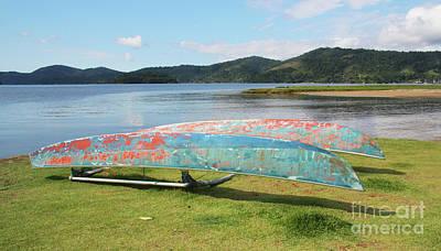 Photograph - Canoes At Paraty by Nareeta Martin