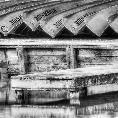 Canoe Photograph - Canoes On The Platte by Twenty Two North Photography