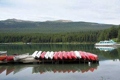 Photograph - Canoes by Ralph Jones