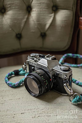 Vintage Camera Wall Art - Photograph - Canon Ae-1 Film Camera by Edward Fielding