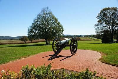 Photograph - Canon At Antietam by Lois Lepisto