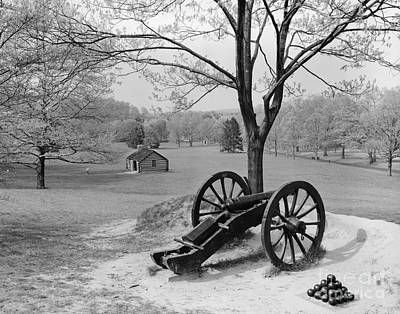 Canon At Valley Forge Art Print by H. Armstrong Roberts/ClassicStock
