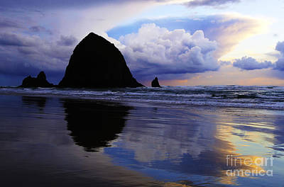 Photograph - Cannon Beach Nature's Symphony by Bob Christopher