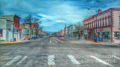 Photograph - Canon City - Main St by Tony Baca