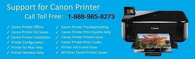 Canon Printer Customer Service  Art Print