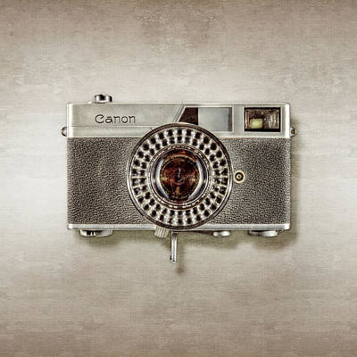 Photograph - Canonete Film Camera by YoPedro