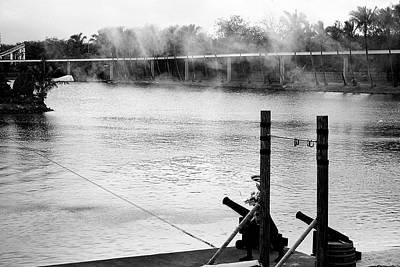 Photograph - Canons And Smoke At Seaworld by Miroslava Jurcik