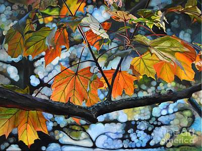 Canadian Heritage Painting - Canopy Of Love by Sheila Vander Wier