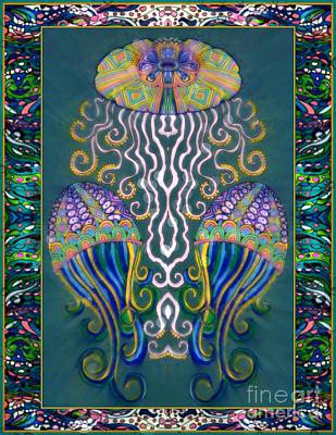 Under The Sea Mixed Media - Canopy Under The Sea by Wbk