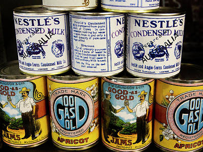 Photograph - Cans 1901 To 1914 by Miroslava Jurcik