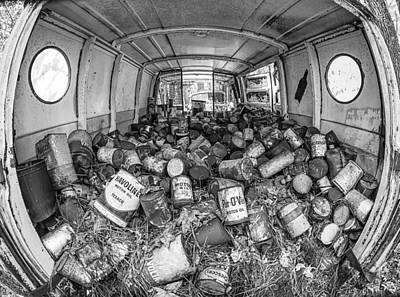 Photograph - Cans In The Van II by Shirley Radabaugh