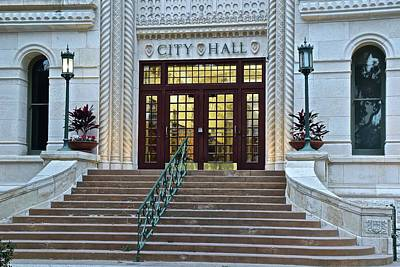 Photograph - Can't Fight City Hall by Frozen in Time Fine Art Photography