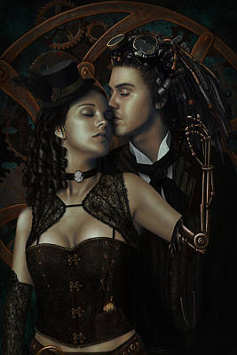 Steampunk Royalty-Free and Rights-Managed Images - Cant Reach My Soul by Stephanie Shimerdla