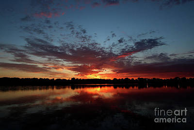 Photograph - Cant Wait For Sunrise by James F Towne