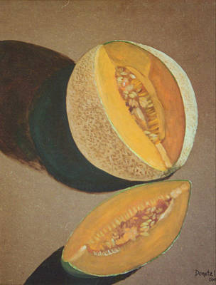 Painting - Cantaloupe by Kathryn Donatelli
