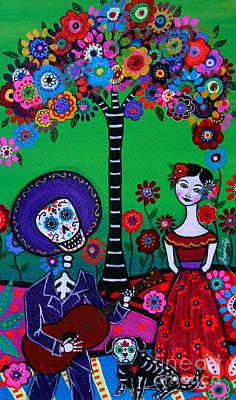Painting - Serenata Especial Para Axl by Pristine Cartera Turkus