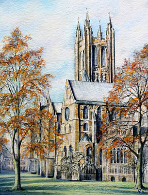 Painting - Canterbury Cathedral by Rosemary Colyer
