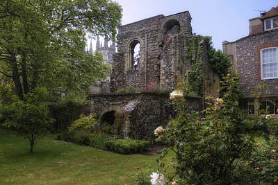 Canterbury Wall Art - Photograph - Canterbury - England by Joana Kruse