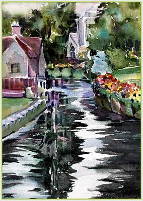 Canterbury Englands Westgate Original by Mindy Newman