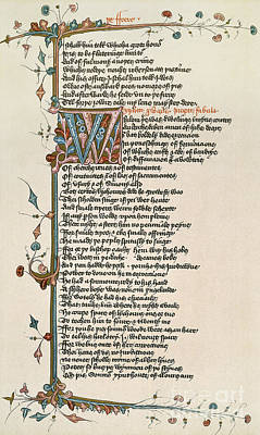 Painting - Canterbury Tales by Granger