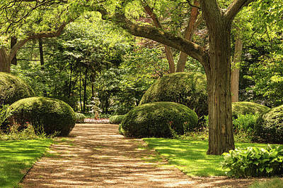 Photograph - Cantigny Garden Green by Joni Eskridge