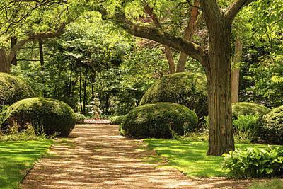 Photograph - Cantigny Garden Green by Joni Eskridge