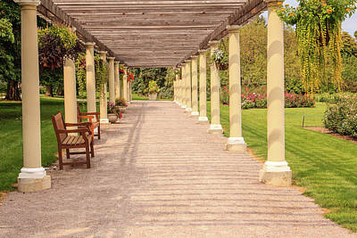 Photograph - Cantigny Pergola by Joni Eskridge