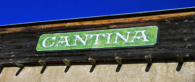 Photograph - Cantina  by Tony Grider