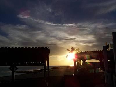 Photograph - Cantina Sunset by Pamela Walrath