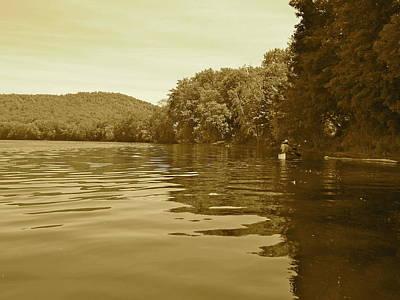 Photograph - Canton Canoe Trip 2016 14 by George Ramos