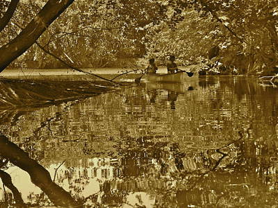 Photograph - Canton Canoe Trip 2016 26 by George Ramos