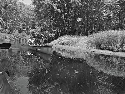 Photograph - Canton Canoe Trip 2016 35 by George Ramos