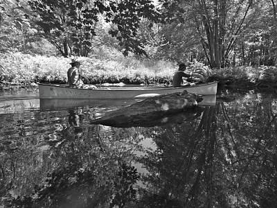 Photograph - Canton Canoe Trip 2016 39 by George Ramos