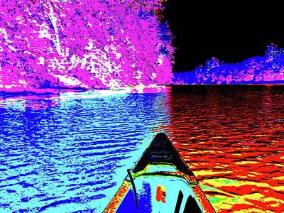 Photograph - Canton Canoe Trip 2016 48 by George Ramos