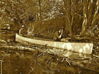 Photograph - Canton Canoe Trip 2016 50 by George Ramos