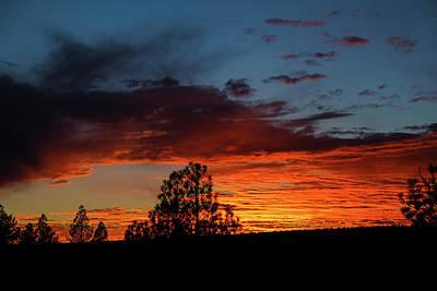 Photograph - Canvas For A Setting Sun by Jason Coward