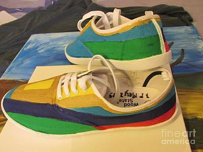 Canvas Shoe Art 003 Art Print