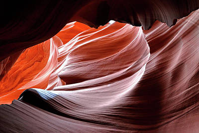 Photograph - Canyon Abstract 2 by Nicholas Blackwell