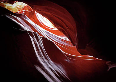 Photograph - Canyon Abstract 4 by Nicholas Blackwell