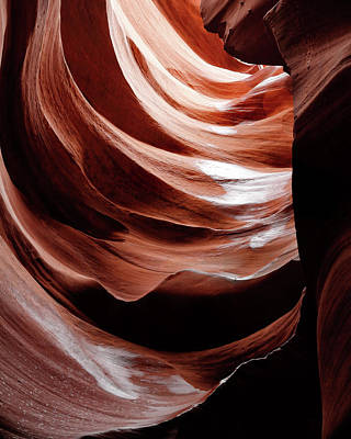 Photograph - Canyon Abstract 6 by Nicholas Blackwell