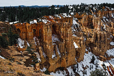 Photograph - Canyon Alcoves by Christopher Holmes