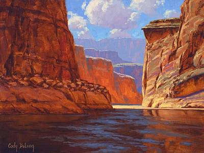 Canyon Wall Art - Painting - Canyon Colors by Cody DeLong