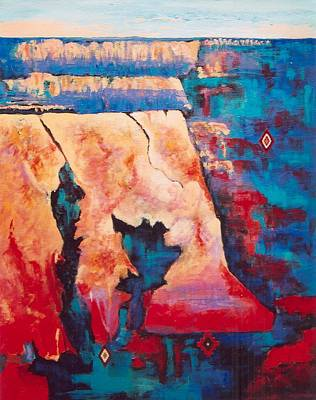 Canyon Colors Art Print
