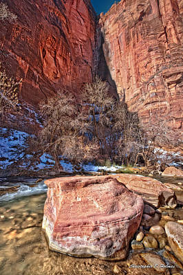 Photograph - Canyon Corner by Christopher Holmes
