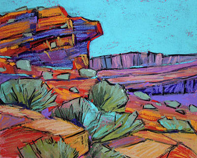 Painting - Canyon Country by Karen Margulis
