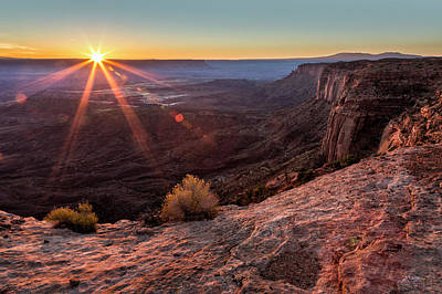 Canyon Country Sunrise Art Print